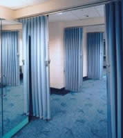 fabric partitions uk